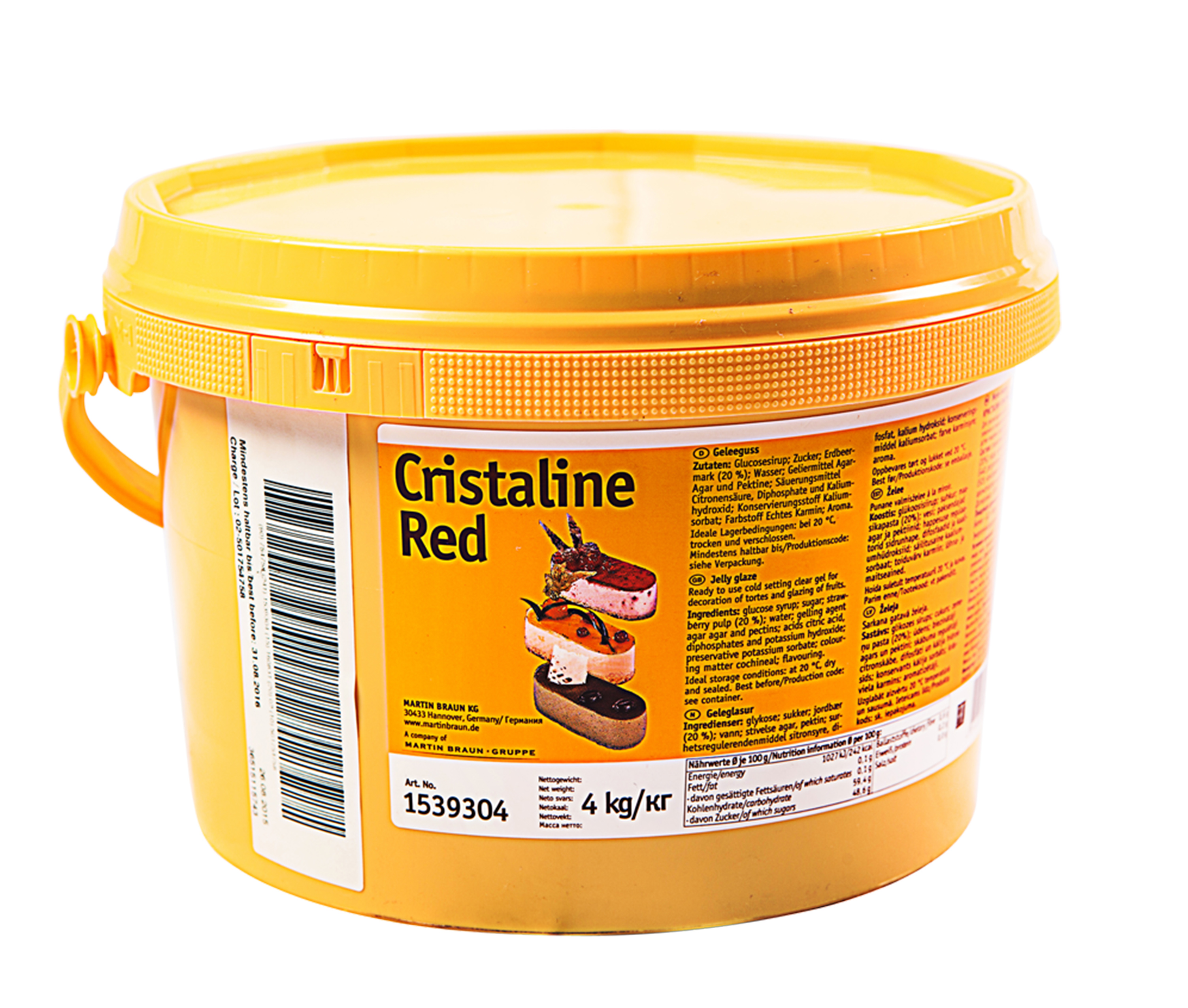 Cristaline Red Image