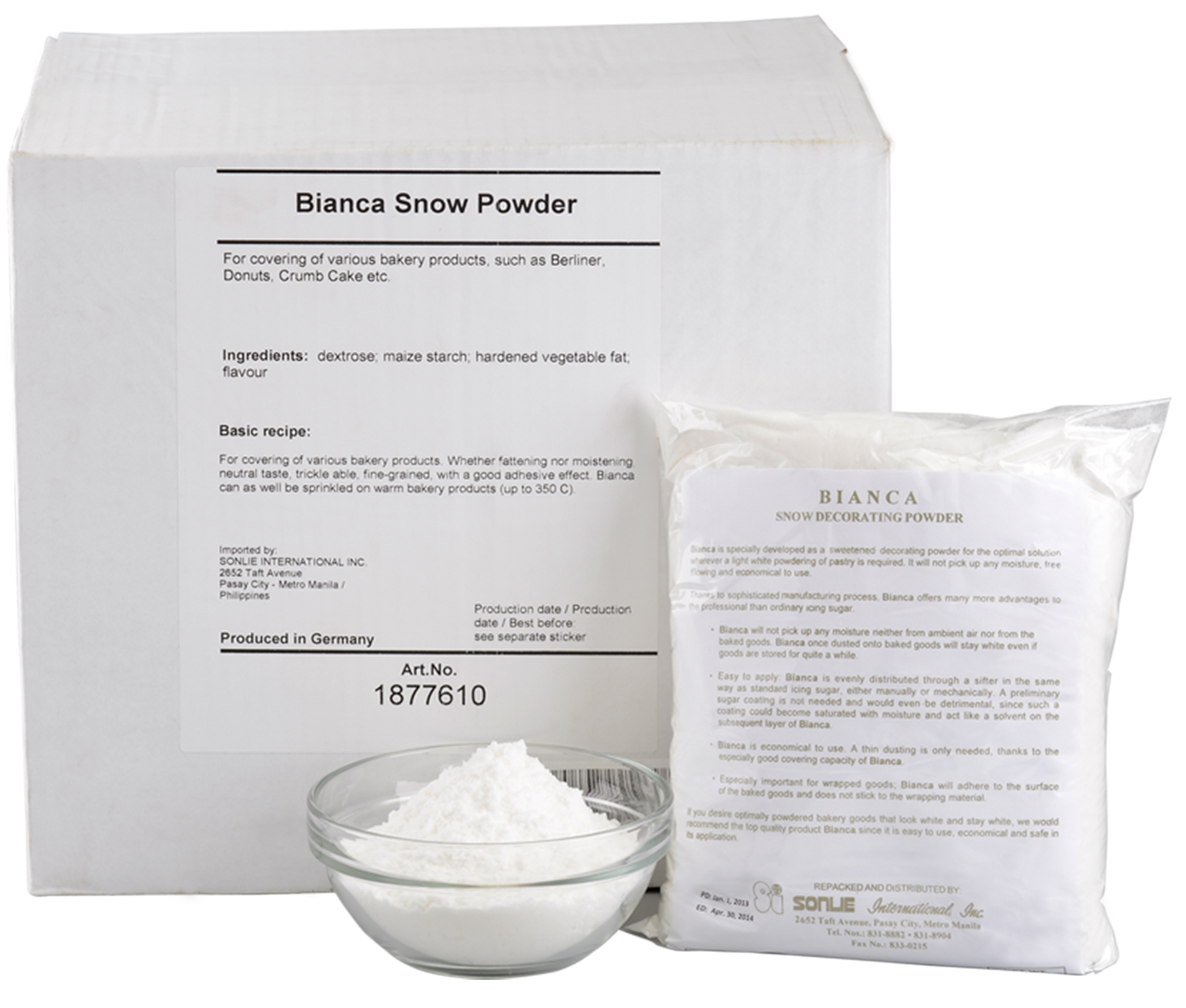 Bianca Snow Powder Image